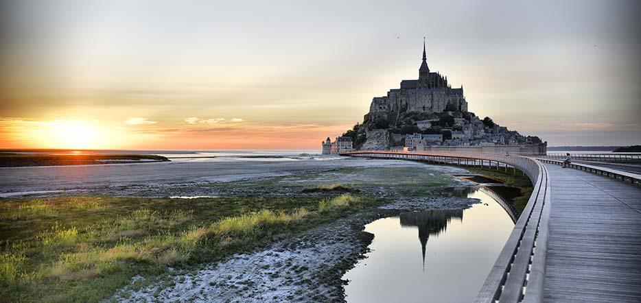 Escapade historique au Mont Saint-Michel