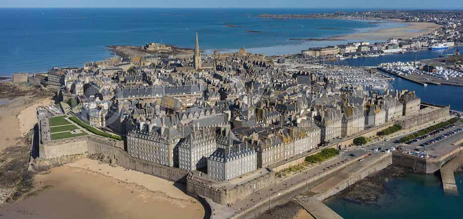 Normandie et Bretagne : Les trésors du Mt-S-Michel et de St-Malo
