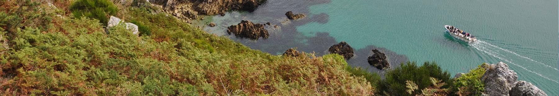 Face à la mer en Finistère