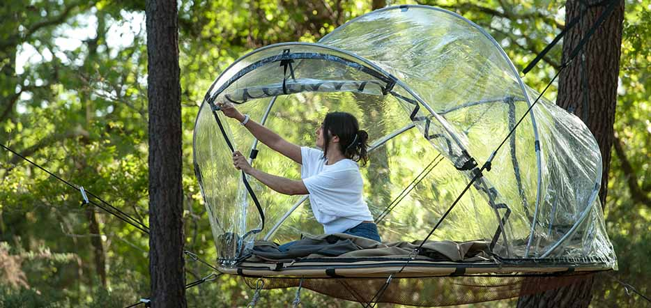 Evasion nature pour une bulle d'oxygène