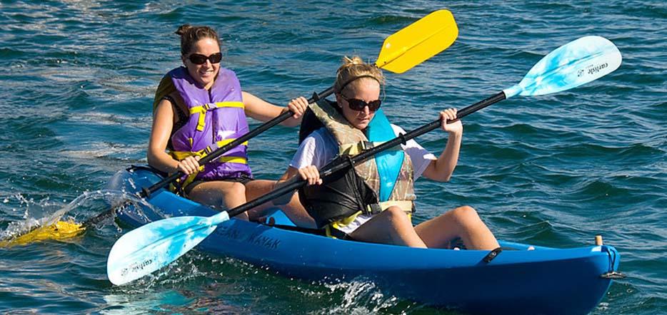 Balade en kayak double