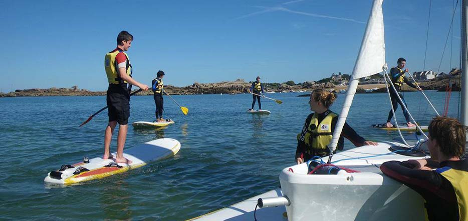 Balade en Stand Up Paddle