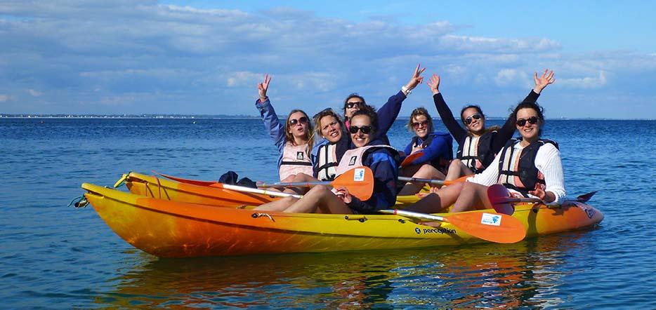 Découverte du kayak de mer