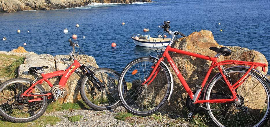 Découvrir Ouessant à vélo en duo...
