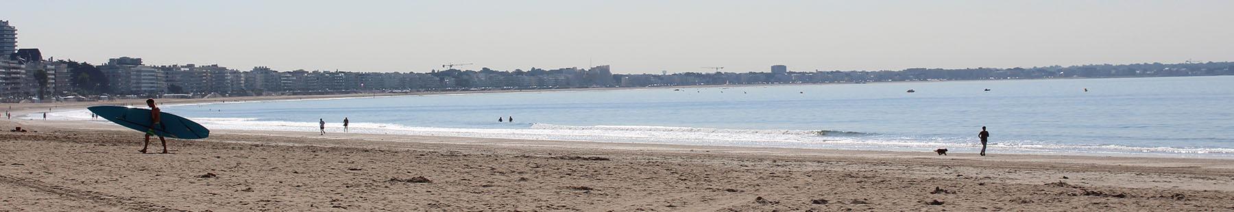 Du fun sur la grande plage de La Baule
