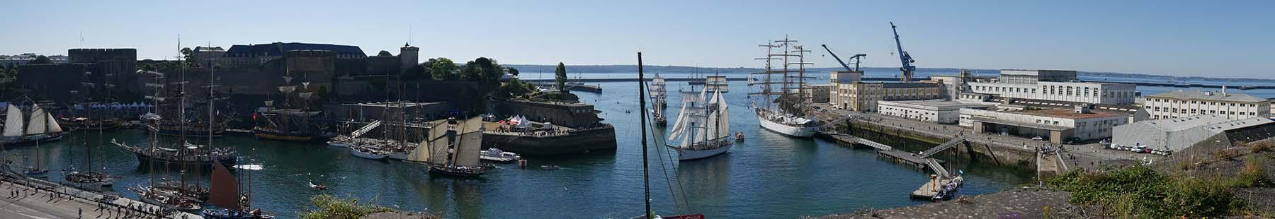 Excursion marine à Brest