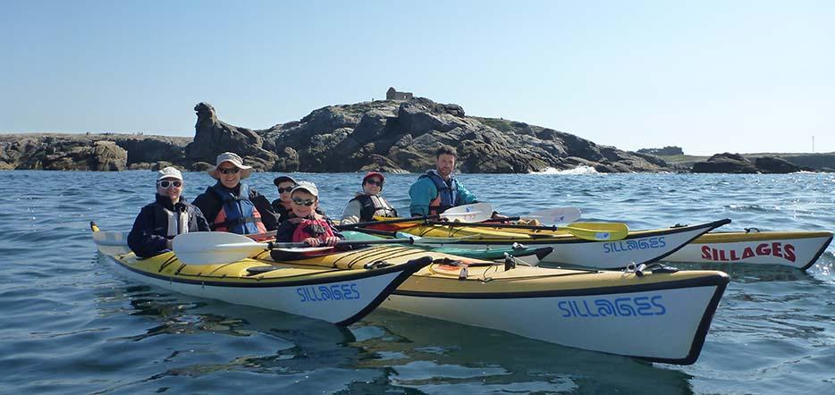 Journée en kayak de mer #1