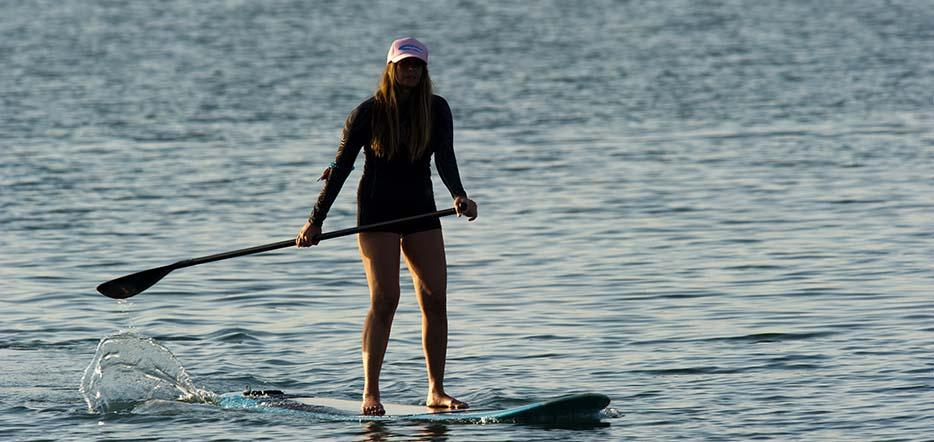 L'initiation au paddle