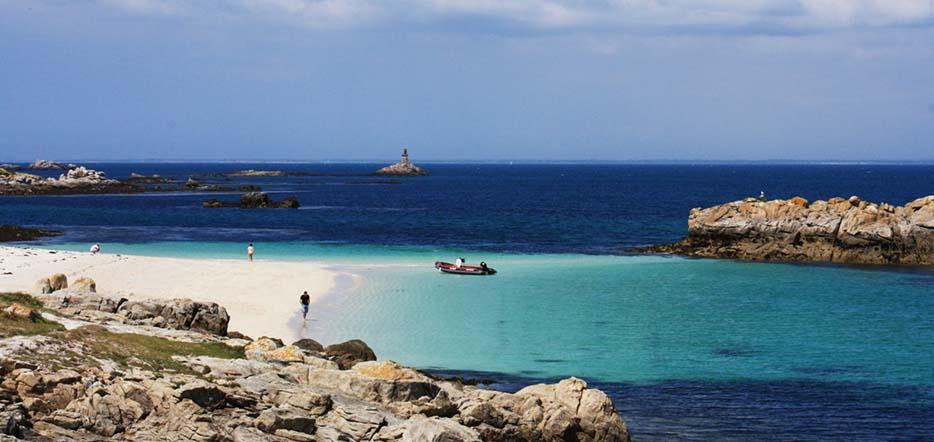 Découverte de l'archipel des Glénan