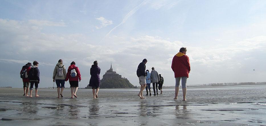 Traversée guidée et commentée de la baie du Mont-Saint-Michel #1