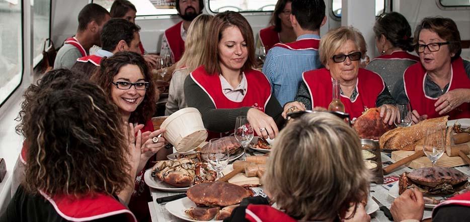"""Déjeuner croisière en rade de Brest façon """"crabe-Marteau"""" #3"""
