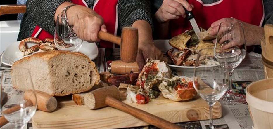 """Déjeuner croisière en rade de Brest façon """"crabe-Marteau"""" #4"""