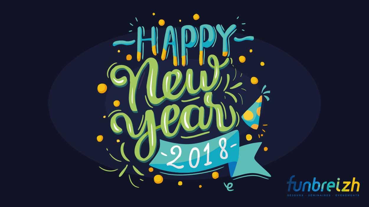 Bonne année 2018 actualité