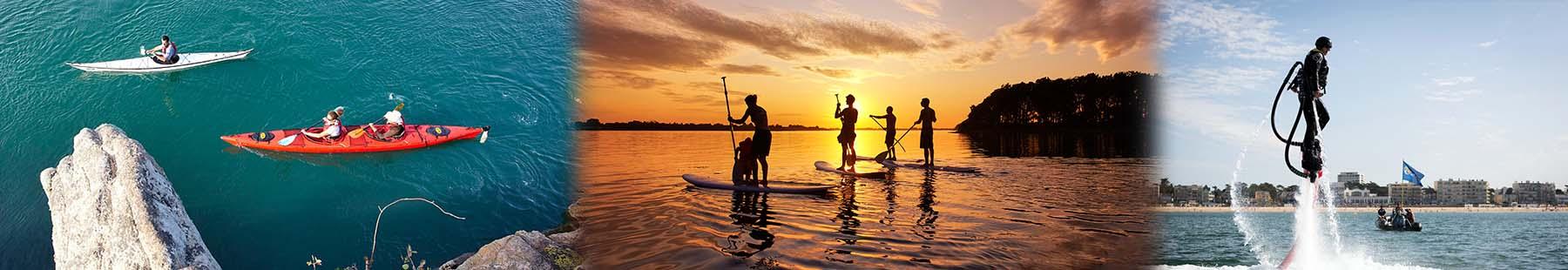 La 1/2 journée de location de paddle