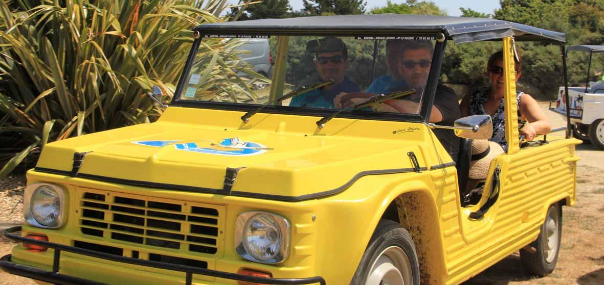 Rallye d'aventures 2CV ou Méharis