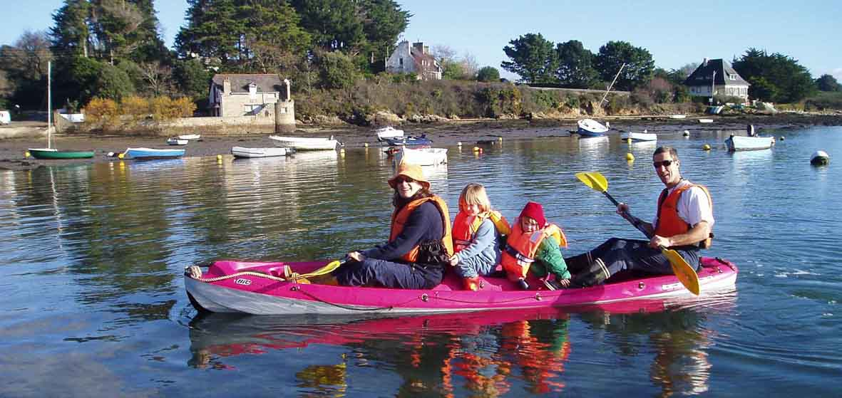 Le Golfe du Morbihan à portée de Kayak