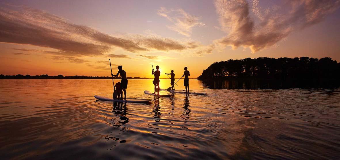 Randonnée découverte en paddle