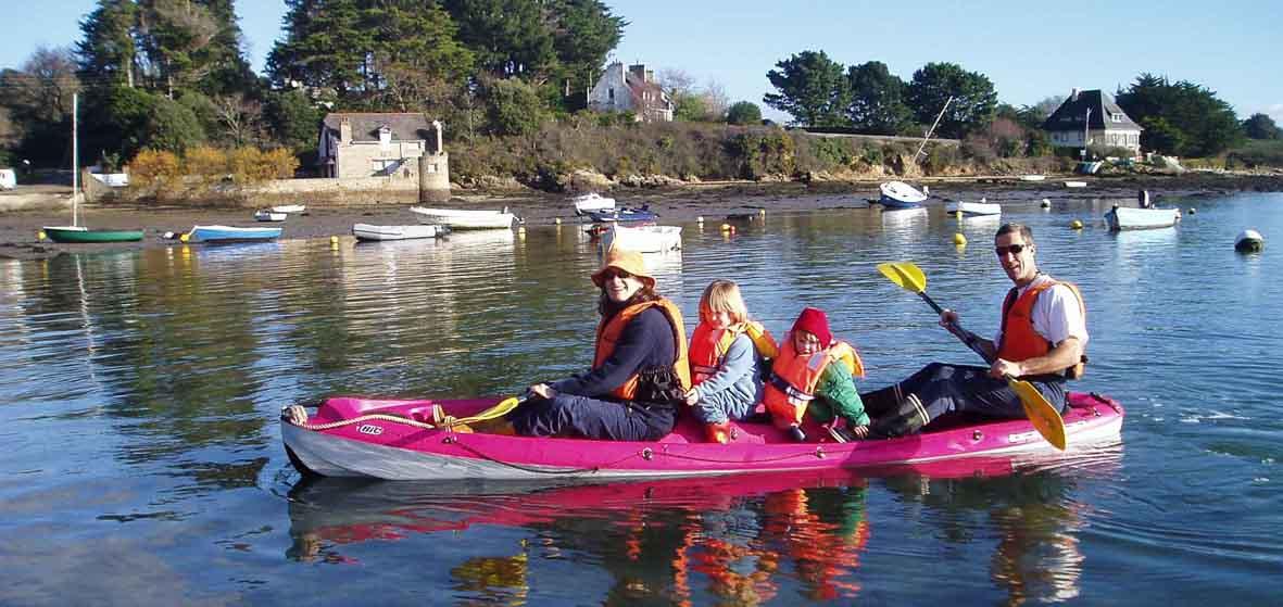 Balade en kayak double à Arradon