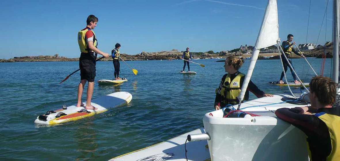 Balade en duo en Stand Up Paddle
