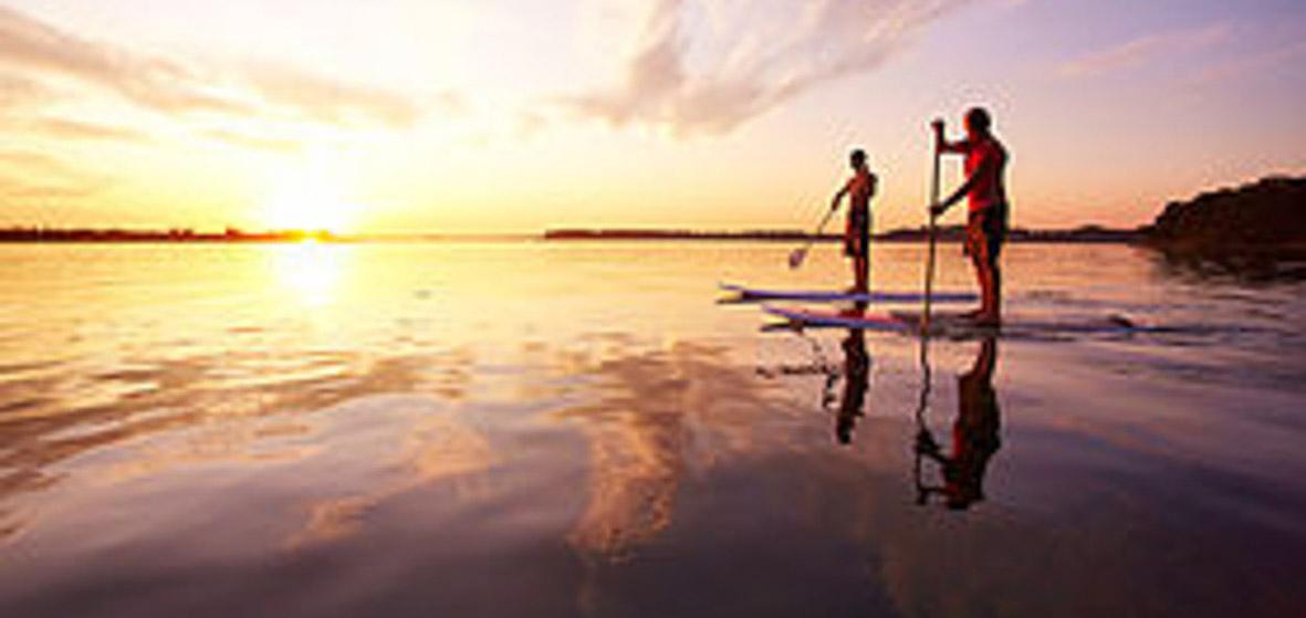 La 1/2 journée de location de paddle #1