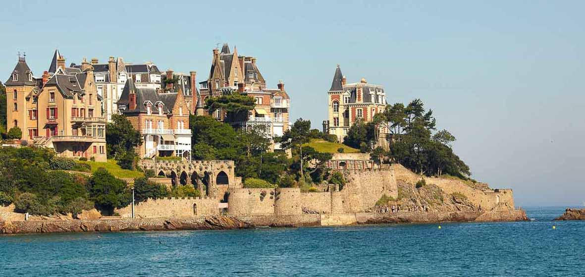 Vue sur mer à Dinard