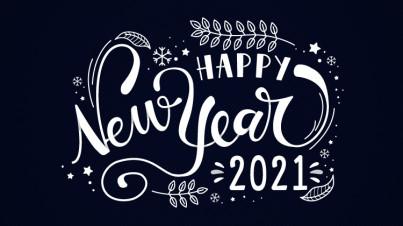 Bonne année 2021 actualité