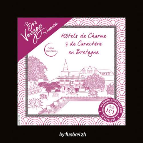 BOX Voyages Hôtels de charme et de caractère en Bretagne